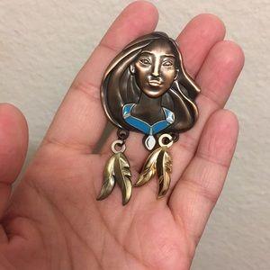 Authentic Disney Trading Pin Pocahontas